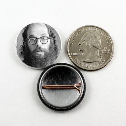 1 inch Ginsberg Pin