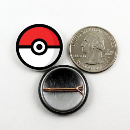 1 inch pokemon pin