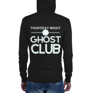 Thursday Night Ghost Club Hoodie Back