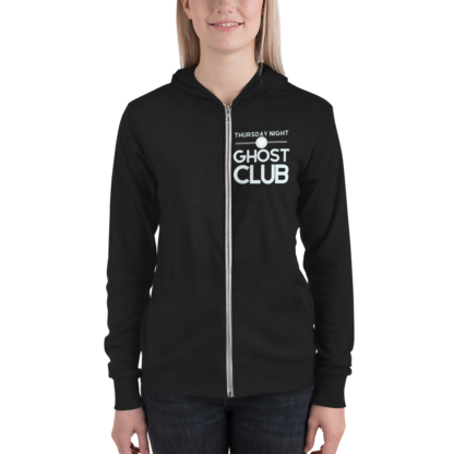 Thursday Night Ghost Club Hoodie Front Woman